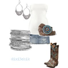 Boots, created by #dixi3chik on #polyvore. #fashion #style H&M Abercrombie & Fitch