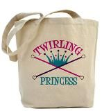 Twirling Princess Tote Bag for $18.00