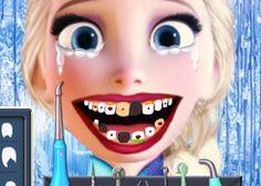 Juegos Dentistas.com - Juego: Elsa Frozen - Jugar Juegos Gratis Online