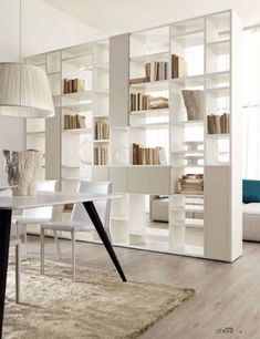 Home Furniture Design Cabinets 18 New Ideas Wall Cabinets Living Room, Living Room Shelves, Home Living Room, Living Room Designs, Living Room Partition Design, Living Room Divider, Room Partition Designs, Bookshelf Room Divider, Divider Cabinet