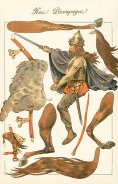 Agence eureka, Mongul-like warrior