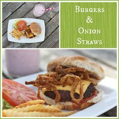 Haystack onion rings are the crispy-licious BOMB on a grassfed burger or even just for a tasty snack. Whole Food Recipes, Cooking Recipes, Healthy Recipes, Food Dishes, Main Dishes, Side Dishes, The Last Meal, Onion Rings, Yummy Snacks