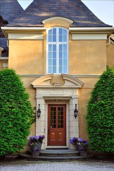 A place to share beautiful images of interior design, residential architecture and occasional other. Revival Architecture, French Architecture, Residential Architecture, Architecture Details, Classical Architecture, House Architecture, Exterior Design, Interior And Exterior, Exterior Windows