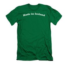 Made In Ireland Adult Slim Fit T-Shirt