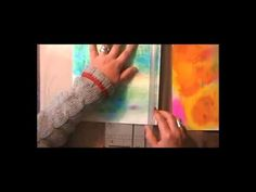 ▶ Sketchbook project part 1 - YouTube. I like the idea of completely making your own sketchbook with watercolour paper, pockets and little burnt holes in the paper.