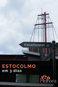 Dicas de passeio, o que fazer, onde comer, onde se hospedar e nossa experiência de 3 dias em Estocolmo (Suécia). Vem viajar com a gente nesse post! O que fazer em Estocolmo | Dicas de viagem | Viajar sem filhos #viagem