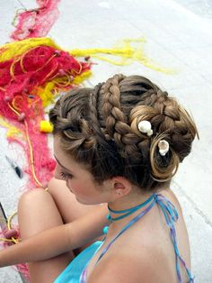 Greek hairdressing: hair by Club Mode Coiffure (Kalymnos island)