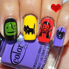 Cute & bright stamping   heartnat