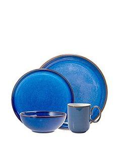 Denby Imperial Dinnerware Set Blue My set  sc 1 st  Pinterest & Denby - Imperial Blue   C a f é J o h n   Pinterest   Dinnerware ...