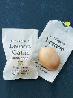 「RH Café」の「レモンケーキ」