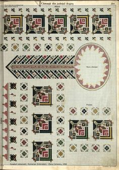 Folk Embroidery, Learn Embroidery, Embroidery Patterns, Cross Stitch Patterns, Machine Embroidery, Antique Quilts, Pattern Books, Fabric Patterns, Cross Stitching