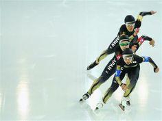 Sochi 2014 Day 15 - Speed Skating Ladies' Team Pursuit Quarterfinals