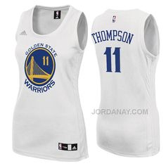 https://www.jordanay.com/womens-klay-thompson-golden-state-warriors-11-home-white-jersey.html Only$70.93 WOMEN'S KLAY THOMPSON GOLDEN STATE #WARRIORS #11 HOME WHITE JERSEY Free Shipping!