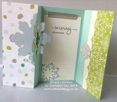 Snowflake Thinlit Gift Voucher Card