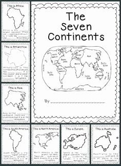 This is a great resource to use when teaching the seven continents to grade. The link will provide you with a ton of templates, activity ideas, and art projects to get your students engaged in social studies geography. 3rd Grade Social Studies, Social Studies Activities, Teaching Social Studies, Learning Activities, Kindergarten Social Studies, Teaching Tools, Social Studies Classroom, Teaching Resources, Social Studies Notebook