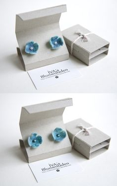 Jewerly Packaging Ideas Bracelet Earring Cards Ideas Jewerly Packaging Ideas Bracelet Ohrring Cards Ideas This image has get - Anna Chouinard Diy Jewelry Unique, Dainty Jewelry, Handmade Jewelry, Earring Box, Earring Cards, Bracelet Display, Jewellery Display, Bracelet Gift Box, Jewelry Logo
