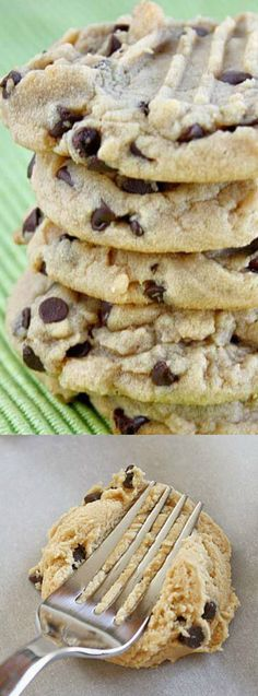 The Best Peanut Butter Chocolate Chip Cookies from Butter with a Side of Bread. This recipe combines three of our favorite things — chocolate chips, peanut butter and cookies!