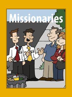 Misioneros (Dibujos para colorear)