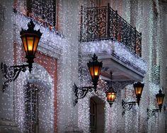 Более 100 км световых гирлянд украсят Москву в рамках фестиваля «Рождественский свет» Москва 2015