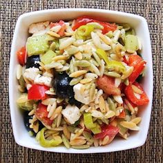 A cool pasta salad recipe. Pasta is just one of the many items we stock in our pantry thanks to the generosity of sponsors and donors like you.