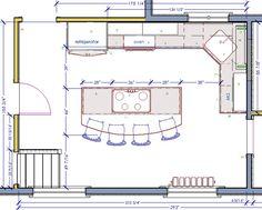 kitchen floor plans | craftman kitchen floorplan