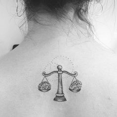 LIBRA: Head & Heart - Gorgeous Zodiac Tattoos For The Astrology-Obsessed - Photos
