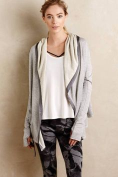 Remy Hooded Cardigan by Nesh | Pinned by topista.com