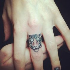 Tiger tattoo <3