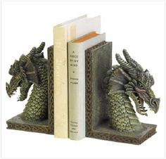 Fierce Dragon Bookends. Starting at $16