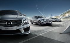 Mercedes-Benz Fleet Campaign on Behance