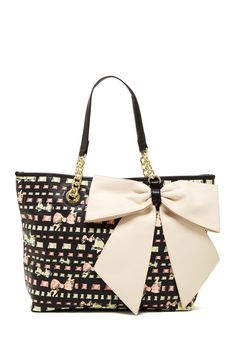 Bow-Tastic Tote by Betsey Johnson on @HauteLook