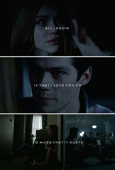 All I know is that I love you so so much that it hurts. Dylan O'brien, Teen Wolf Dylan, Teen Wolf Cast, Malia Tate, Lydia Martin, Scott Mccall, Maze Runner 2014, Teen Wolf Stydia, Teen Wolf Ships