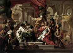 Alexander the Great in the Temple of Jerusalem - Joodse tempel - Wikipedia Most Famous Paintings, Great Paintings, Oil Paintings, Popular Paintings, Classic Paintings, Acrylic Paintings, Jerusalem, Alexandre Le Grand, Alexander The Great