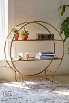 Sofia Gold Circle Shelf – Missfittings I own it :)