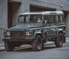 This Practically-Perfect Restomod Land Rover Defender 110 Could Be Yours Land Rover For Sale, Used Land Rover, Land Rover Defender 110, Defender 90, Jeep Rubicon, Jeep Wrangler Unlimited, Motorhome, Toyota Fj Cruiser, Lifted Ford Trucks