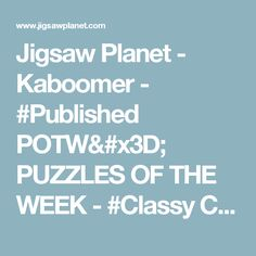 Jigsaw Planet - Kaboomer - #Published POTW= PUZZLES OF THE WEEK - #Classy Christmas Cupcakes