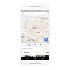 Google Maps Android App Bring Real-time Traffic Info Nearby Places & Bus Schedules