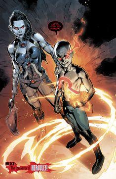 Grail And Kid Darkseid (Wonder Woman Vol 5 Comic Book Artists, Comic Books Art, Comic Art, Superhero Characters, Dc Comics Characters, Arte Dc Comics, Marvel Comics, Darkseid Dc, Comic Character