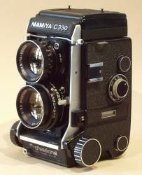 "The Mamiya C330 camera like this was used to photograph the wildflowers of WA in the book ""What Wildflower Is That?"""