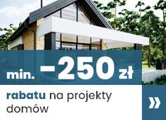 Projekt domu Uroczy 146,47 m2 - koszt budowy 254 tys. zł - EXTRADOM One Story Homes, Bungalow House Design, Story House, Small House Plans, Planer, Exterior, How To Plan, House Styles, Modern