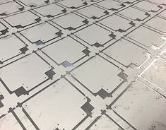 CNC punched sheet metal plates with radiused corners Types Of Sheet Metal, Sheet Metal Work, Metal Working, Cnc, Corner, Profile, Behance, Gallery, User Profile