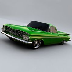 '59 El Camino. No idea why I have always loved El Caminos. Just another odd fascination I suppose.