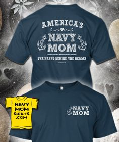 Wow, Awesome Shirts!!! LIMITED TIME!!!! LINK: http://art4mil.com/NavyMomHeartShirts #NavyMom #NavyMomShirts - NavyMomShirts.com