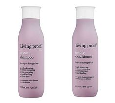 Dry/Coarse Hair: Living Proof Restore Shampoo/Conditioner ($12-$59).