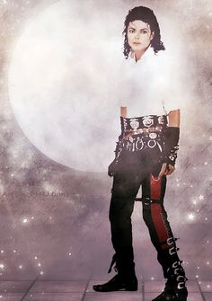 Dirty Diana album photo--MJ.digital art.
