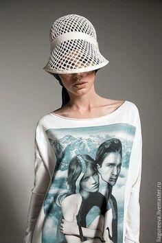 4fd02f02f3bc4 Шляпы ручной работы. Ярмарка Мастеров - ручная работа. Купить Шляпка  летняя. Handmade. Белый