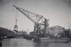 Bnr. 542 (1921) 'Manchester' 60 ton Eigen voortstuwing foto: St. Erfgoed Werf Gusto fotograaf: Onbekend