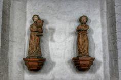 Figuren in der Marienkirche