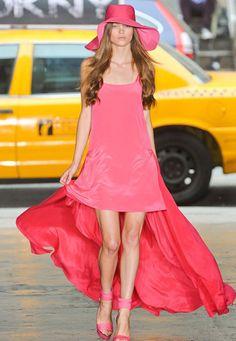 Pink long dress for spring & summer