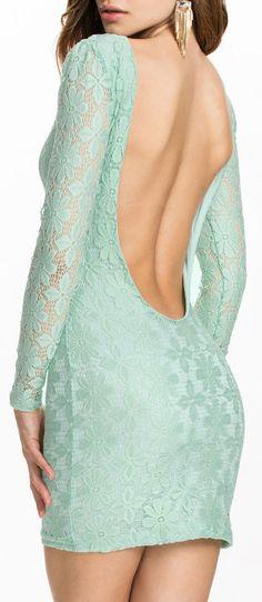 Backless Lace Club Dress $31.99